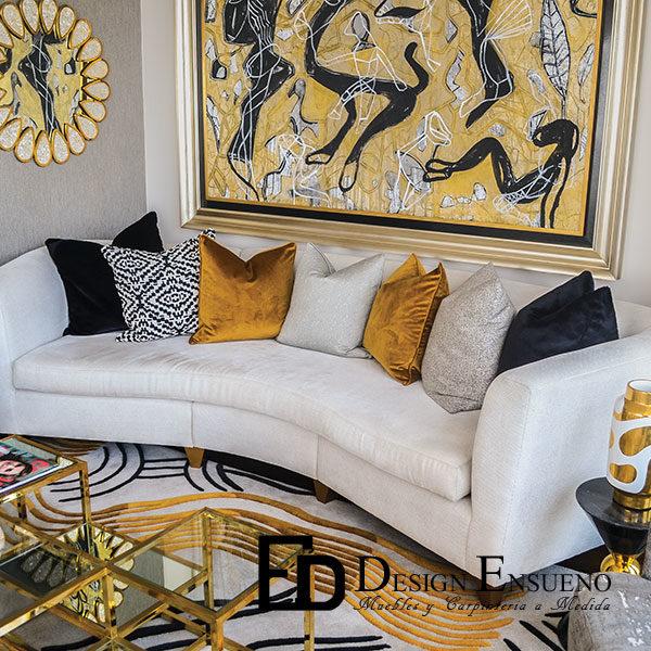 Sofa Curvo Midas | Design Ensueño